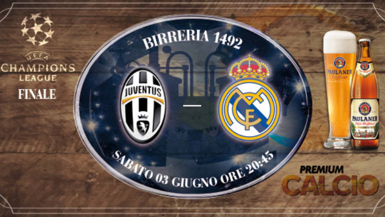 Finale Champions League: Juventus – Real Madrid