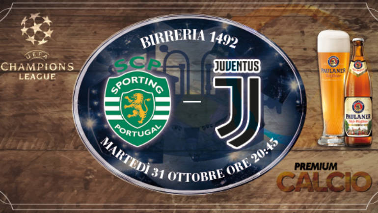 Champions League: Sporting – Juventus